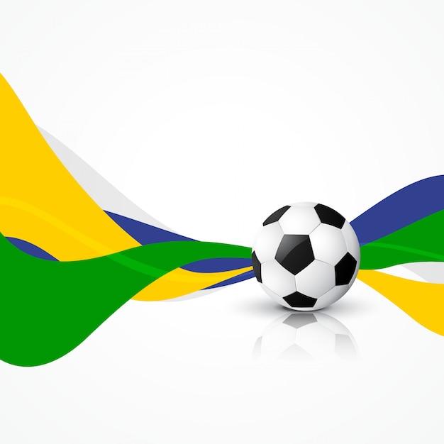 Fußball fußball abstrakte design kunst Premium Vektoren