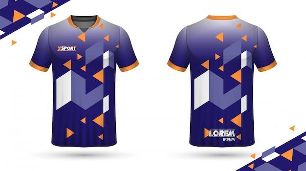 Fußball-shirt-vorlage Premium Vektoren