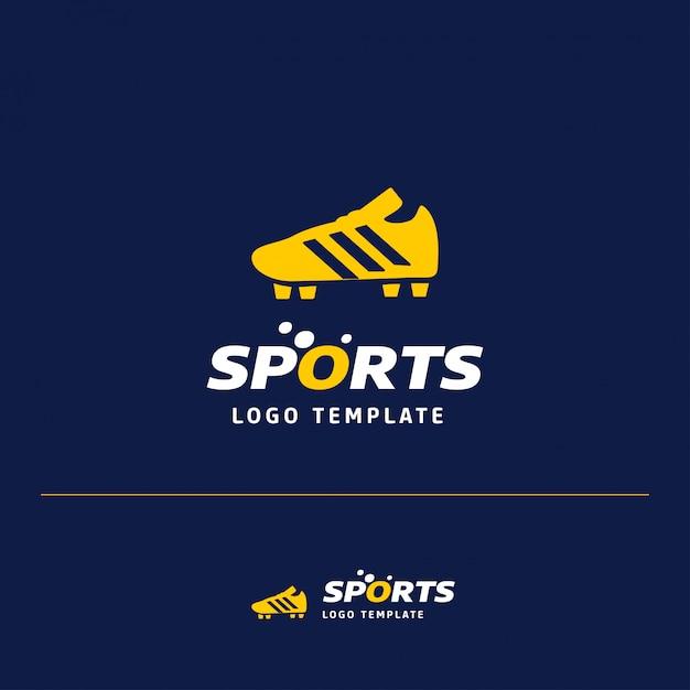 Fußball-Sport-Logo Kostenlose Vektoren