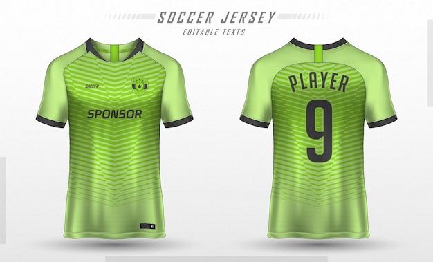 Fußball trikot vorlage sport t-shirt design Premium Vektoren
