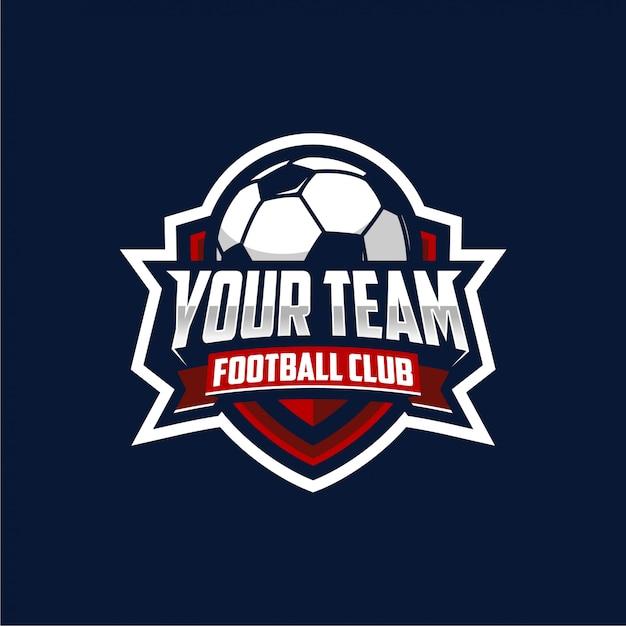 Fussballclub-logo Premium Vektoren