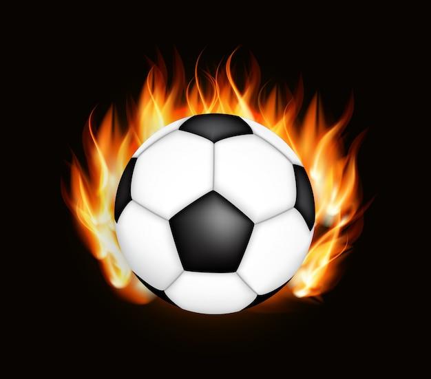 Fußballmeisterschaft hintergrund Premium Vektoren