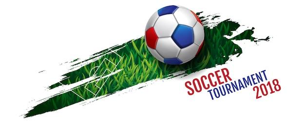 Fußballturnier Premium Vektoren