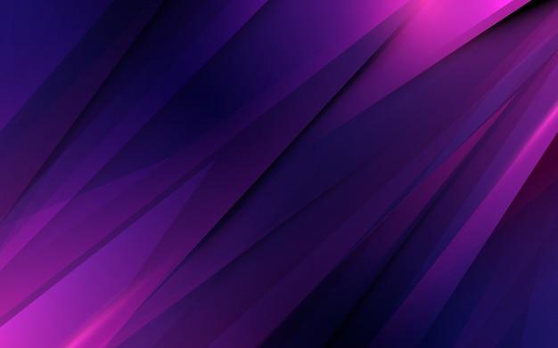 Futuristischer hintergrund der abstrakten purpurroten dreieckbewegung Premium Vektoren