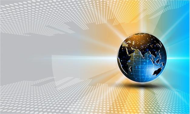 Futuristischer Vektor des Konzeptkonzept-Hintergrundes ENV 10 Science-Fiction-Tech-Cyber Premium Vektoren