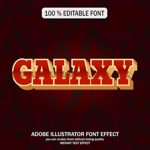 Galaxietextart Premium Vektoren