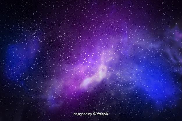 Galaxy partikel hintergrund Kostenlosen Vektoren