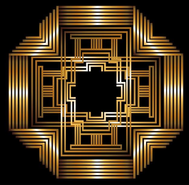 Gatsby-design Premium Vektoren