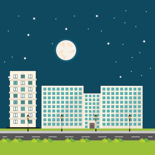 Gebäudedesign Premium Vektoren