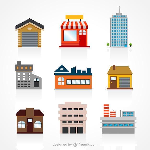 Gebäuden Kostenlosen Vektoren