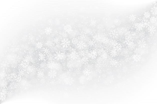 Gefrorener fensterglas-effekt-weiß-hintergrund Premium Vektoren