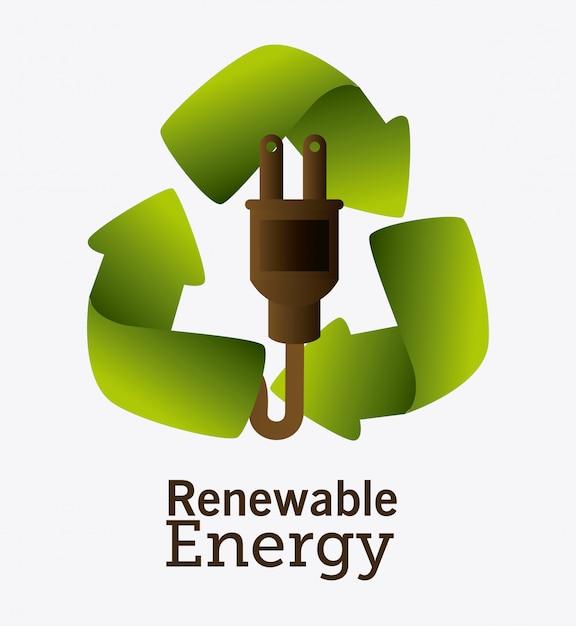 Gehen ökologie design grün. Kostenlosen Vektoren