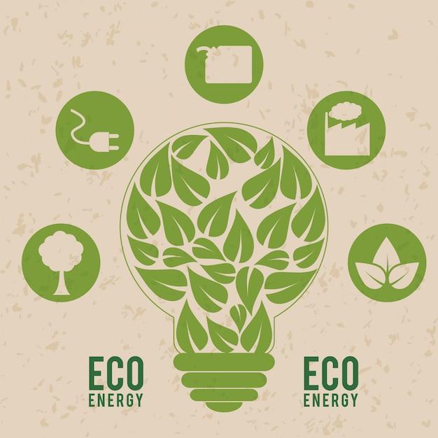 Gehen sie grünes design Premium Vektoren