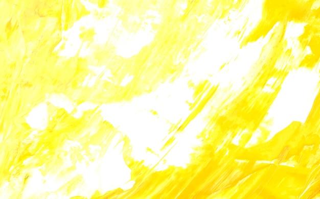 Gelb bemalte leinwand Kostenlosen Vektoren