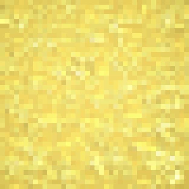 Gelbes mosaik Premium Vektoren