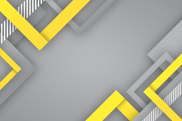 Gelbes und graues hintergrundkonzept Kostenlosen Vektoren