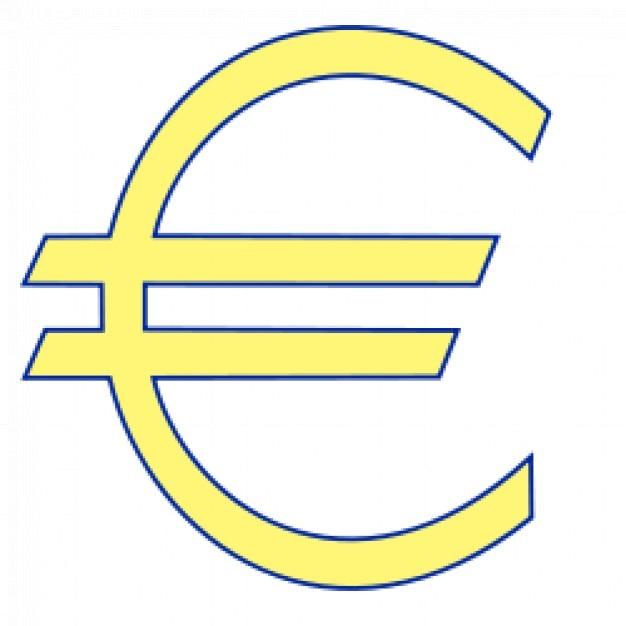 Geld Euro-Symbol | Download der kostenlosen Vektor