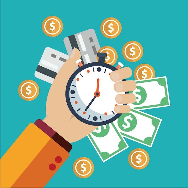 Geld-hintergrund-design Kostenlosen Vektoren