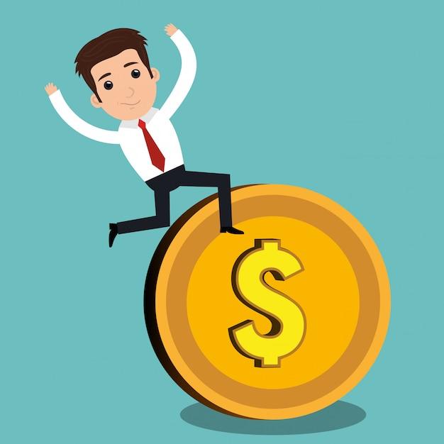 Geld-konzept Kostenlosen Vektoren