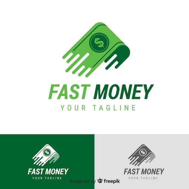 Geld-Logo-Vorlage | Download der kostenlosen Vektor