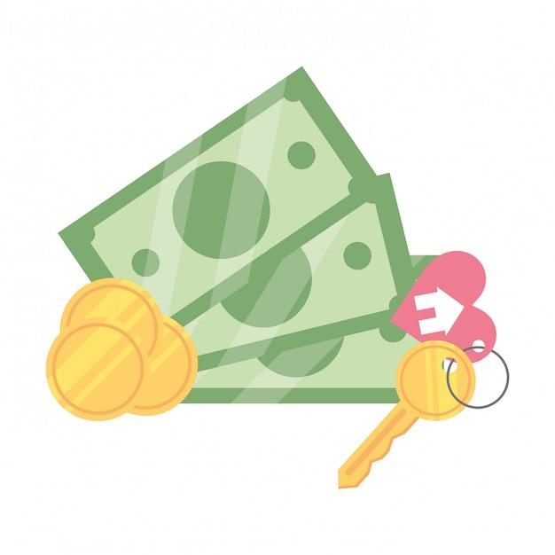 Geld rechnungen cartoon Premium Vektoren