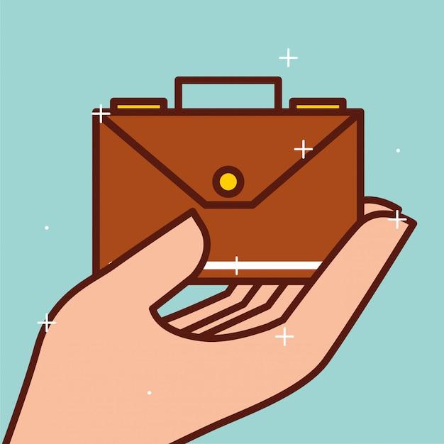 Geld sparen konzept Premium Vektoren