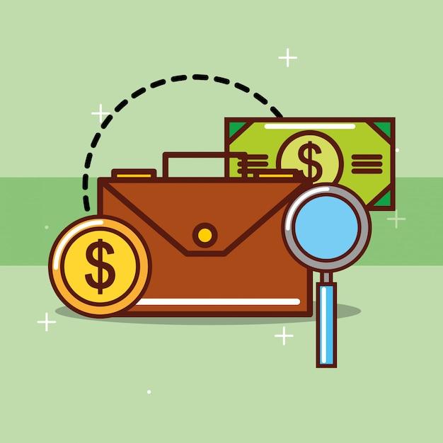 Geld sparen Kostenlosen Vektoren