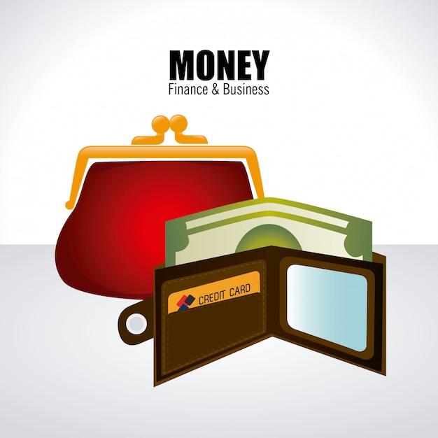 Geld weiß Kostenlosen Vektoren