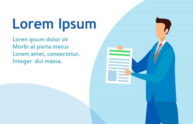 Gemeinsamer anwalt, rechtsberater firma flat web banner vorlage Premium Vektoren