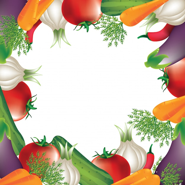 Gemüse Premium Vektoren