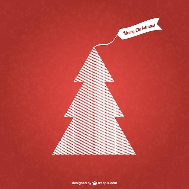 gemusterten weihnachtsbaum vektor download der. Black Bedroom Furniture Sets. Home Design Ideas
