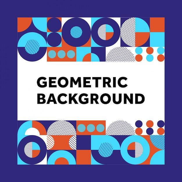 Geometrie hintergrund Premium Vektoren
