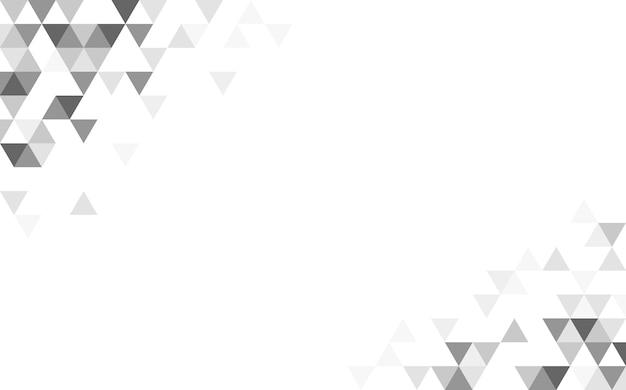 Geometrische dreieckmusterabbildung Kostenlosen Vektoren