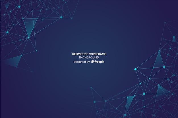 Geometrische formen hintergrund Kostenlosen Vektoren