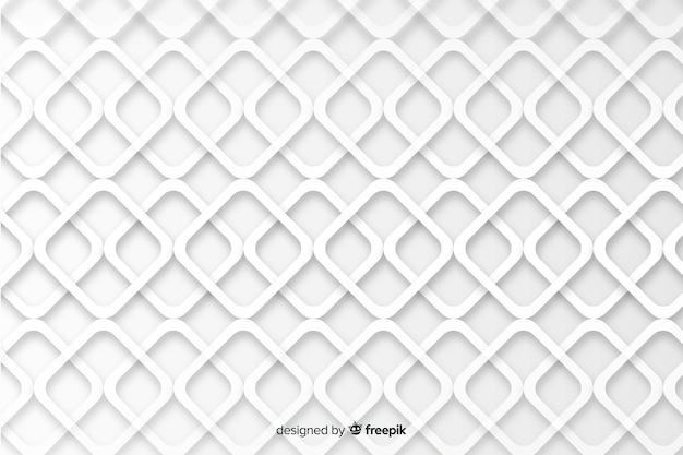 Geometrische formen im papierarthintergrund Kostenlosen Vektoren
