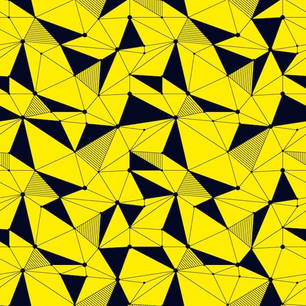 Geometrische linie nahtlose muster Premium Vektoren