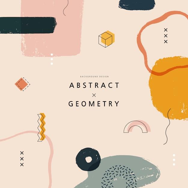 Geometrische muster für webdesign. illustration. Premium Vektoren