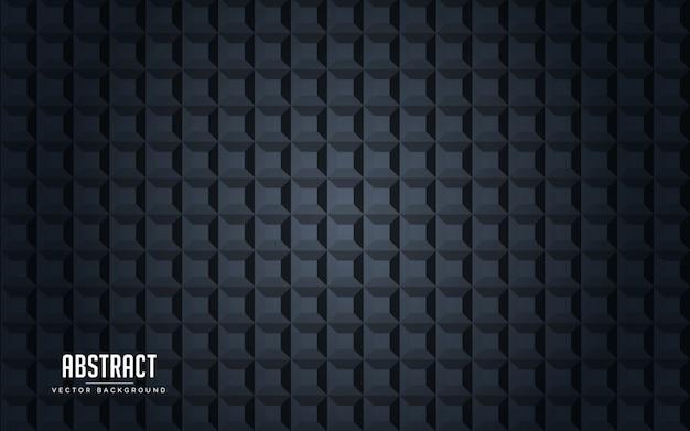 Geometrische schwarze und graue farbe des abstrakten hintergrundes Premium Vektoren