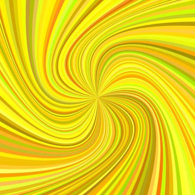 Geometrische swirl hintergrund - vektor-illustration von gedrehten strahlen in bunten tönen Kostenlosen Vektoren