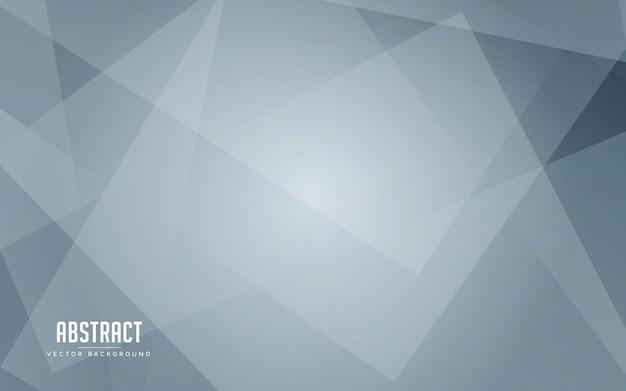 Geometrische weiße und graue farbe des abstrakten hintergrundes Premium Vektoren