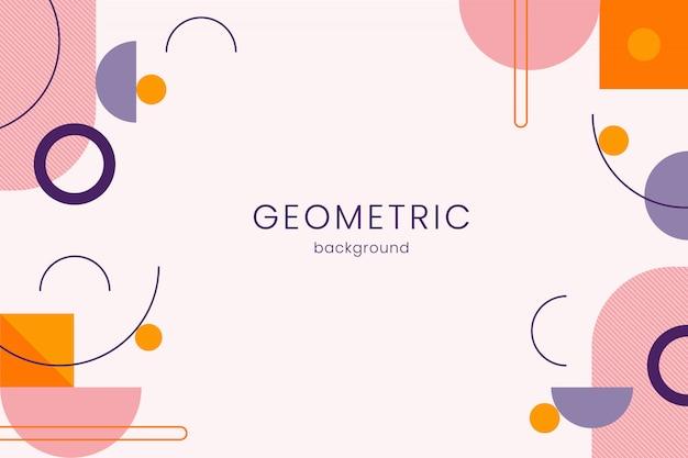 Geometrischen hintergrund Kostenlosen Vektoren
