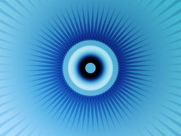Geometrischer blumenblauhintergrund Premium Vektoren