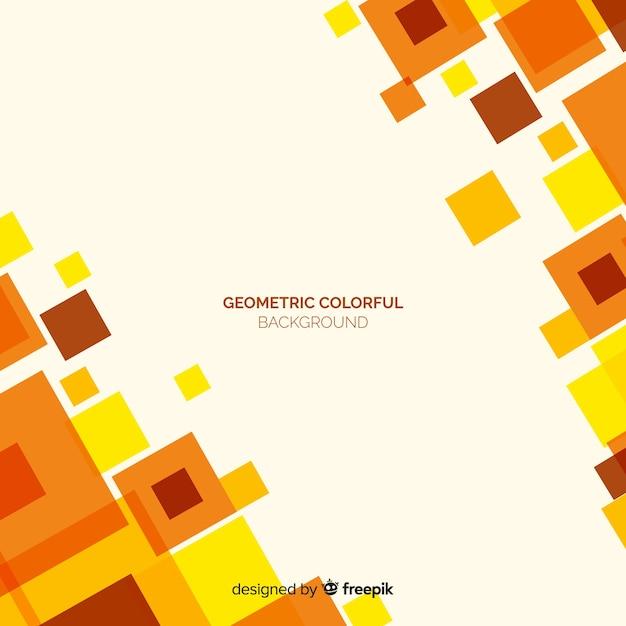 Geometrischer bunter hintergrund Kostenlosen Vektoren
