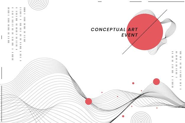 Geometrischer hintergrund im japanischen stil Kostenlosen Vektoren