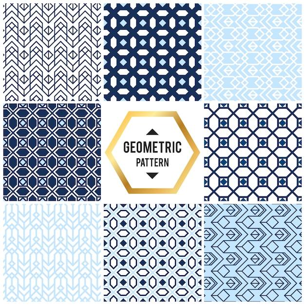 Geometrischer hintergrund mit raute und knoten. abstraktes geometrisches muster Kostenlosen Vektoren