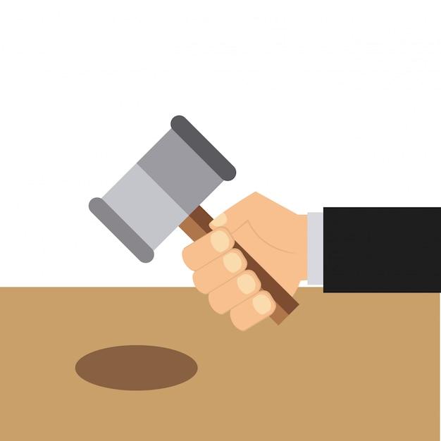Gerechtigkeitssymbol Premium Vektoren
