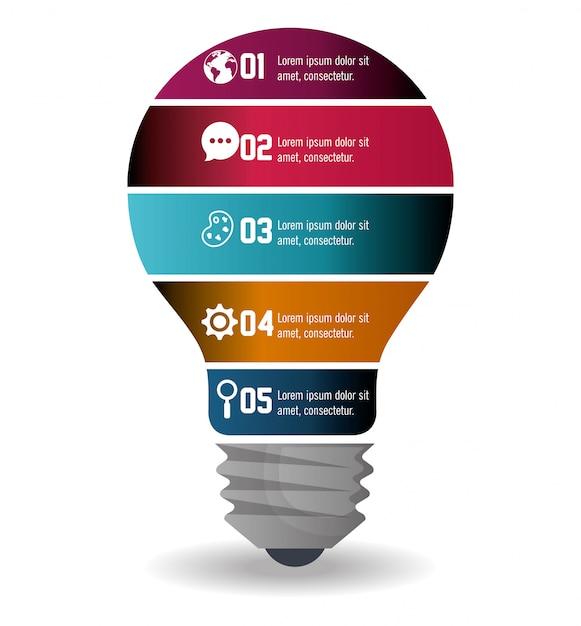 Geschäft infografik Kostenlosen Vektoren