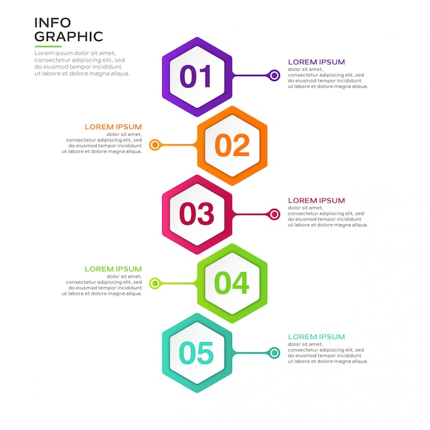 Geschäft infografik Premium Vektoren