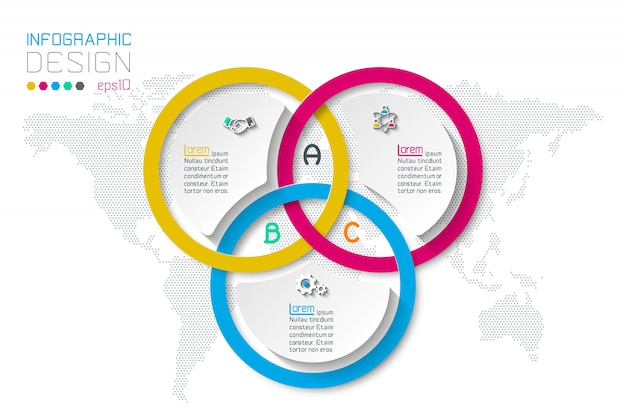 Geschäft infografiken Premium Vektoren