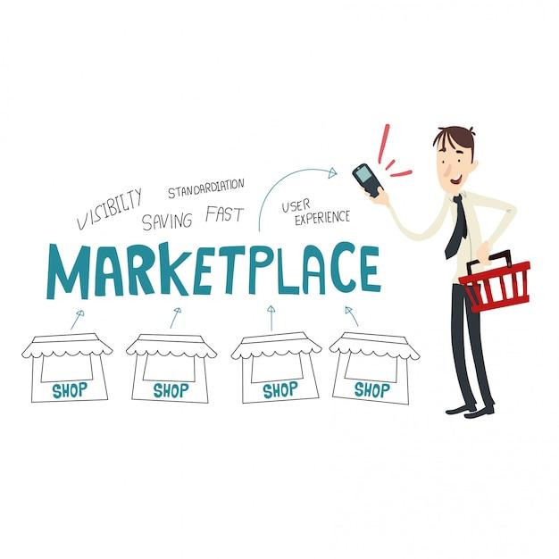 Geschäftlicher erfolg Premium Vektoren